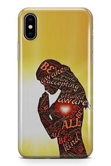 Lopard iPhone Xs Max Kılıf Silikon Arka Kapak Koruyucu Dua Desenli Full HD Baskılı Renkli